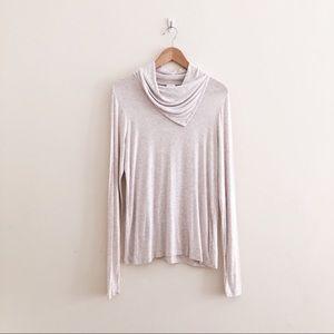 Cabi Sawyer Tee Long Sleeve Shirt 3226 Cream